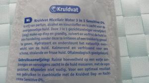 Review Kruidvat micellair water