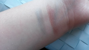 Review DA eyeshadow baked